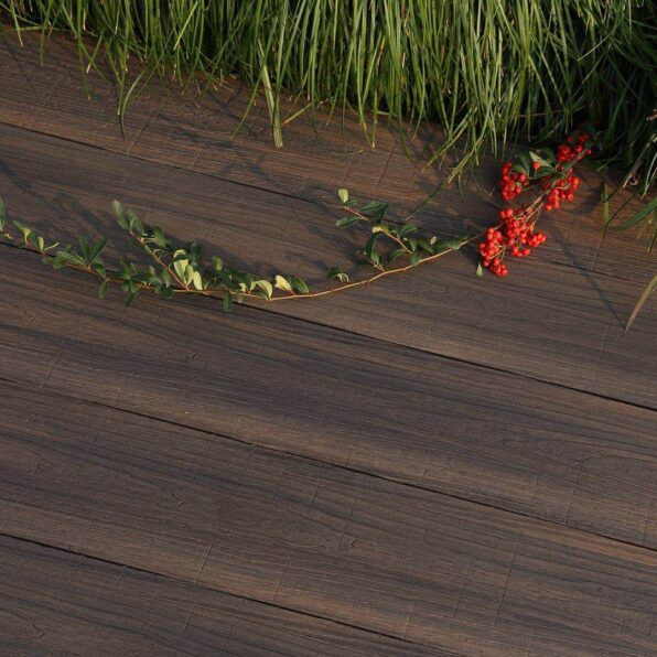 Composite Decking Board – Colour Chocolate Dark Brown – exclusive to Ultra Decking – Dimensions 3.6m 2