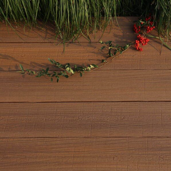 Composite Decking Board – Colour Teak – exclusive to Ultra Decking – Dimensions 3.6m