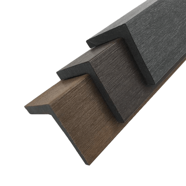 Composite Decking L Corner Trim Colours