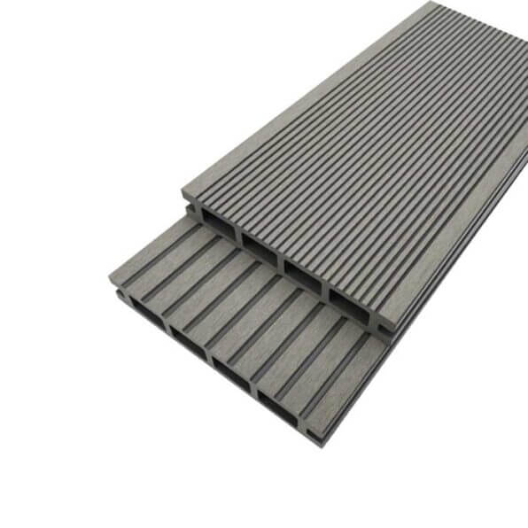 Grey Composite Decking Board – Dimensions 3.6m 150mm 25mm – Reverisble Grooved Boards