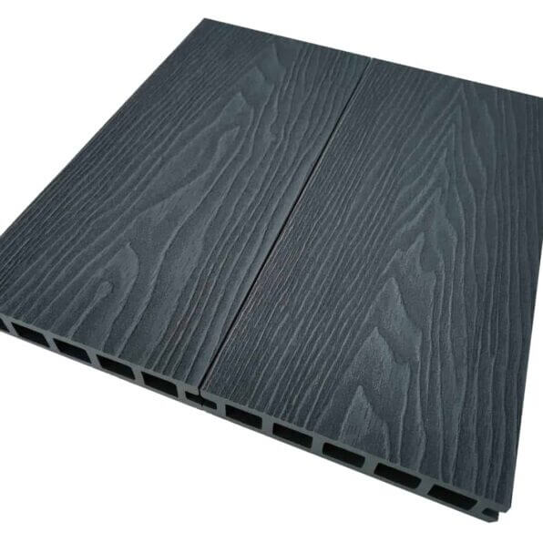 Anthracite-Grey-Composite-Decking-Board-Dimensions-3.6m-140mm-25mm-Reverisble-Deep-Emboosed-Wood-Grain-Boards-Slip-Scratch-Resistant-5